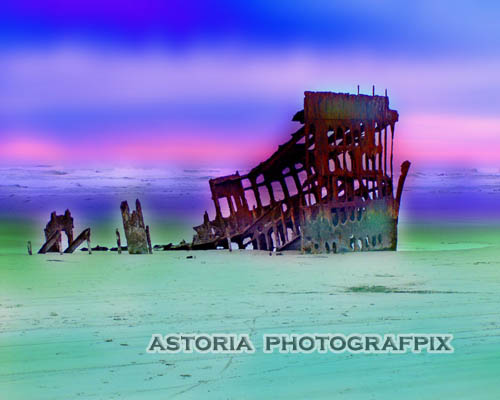 SM-148AB, peter iredale shipwreck, fort stevens, state park, beach, hammond, oregon