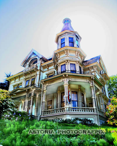 SM-185, flavel, house, landmark, astoria, eighth, oregon, victorian, historic
