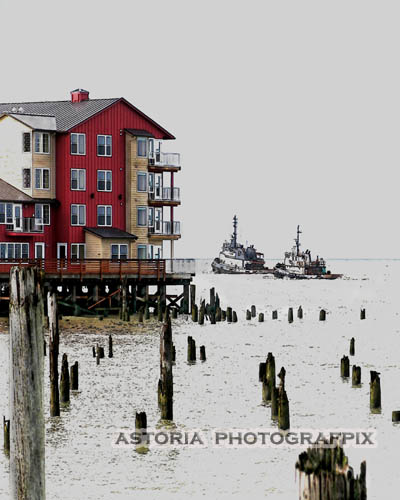 SM-264, tugs, tugboats, columbia river, astoria, oregon, cannery pier hotel, waterfront