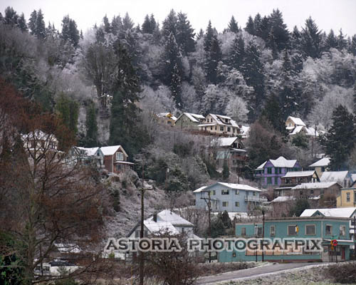 SM-281, snow, hillside, astoria, oregon