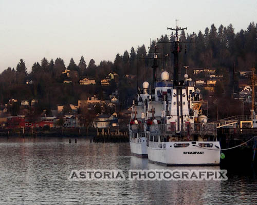 SM-375, cutter, coast guard, steadfast, 17th street, astoria, oregon, docked, port