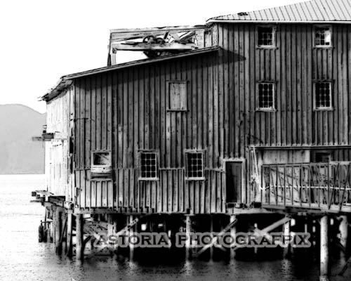 Astoria Photografpix, SMBW-113, net loft, columbia river, astoria, oregon, cannery