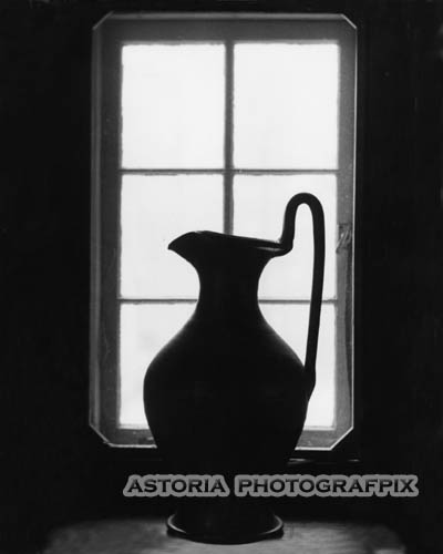 Astoria Photografpix, SMBW-212, jug, window, silhouette
