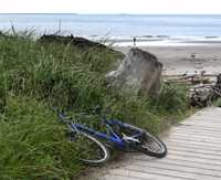 SM-492, beach, columbia river, bicycle, ilwaco, washington