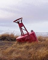 Astoria Photografpix, Stranded Buoy, Long Beach, WA, SM-122A