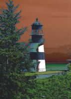 Astoria Photografpix, Cape Disappointment Lighthouse, Ilwaco, Washington, SM-180