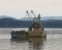 Astoria Photografpix, Oyster Boat, Willapa Bay, WA, SM-235