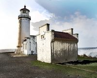 Astoria Photografpix, North Head Lighthouse, Ilwaco, Long Beach Peninsula, Washington, SM-323